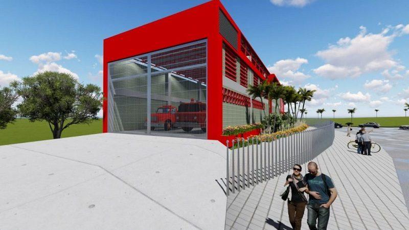 Tecnoglass dona moderna Estación de Bomberos a Barranquilla 2