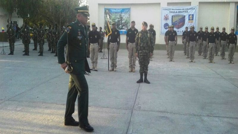 Comandante Gaula Militar Magdalena