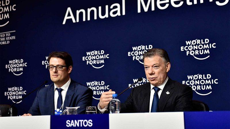 El Gobierno de Colombia y la guerrilla del ELN lograron un acuerdo para iniciar una negociación oficial de paz, ratificó el Presidente Juan Manuel Santos en rueda de prensa, luego de participar en el Foro Económico Mundial.