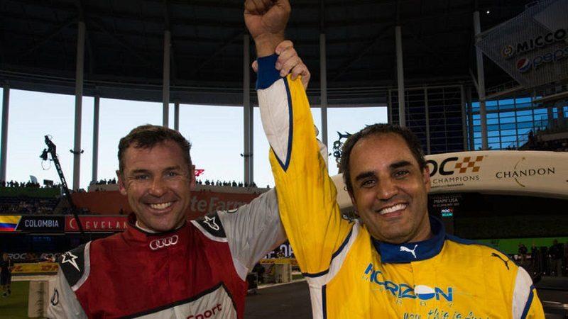 juan pablo montoya race of champions