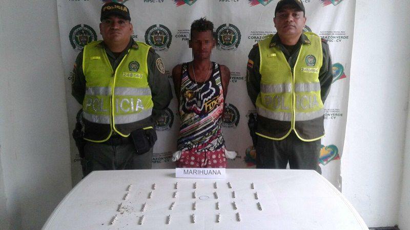 capturado droga manati