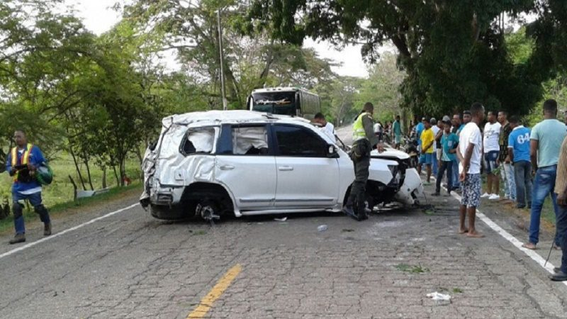camioneta accidente martin