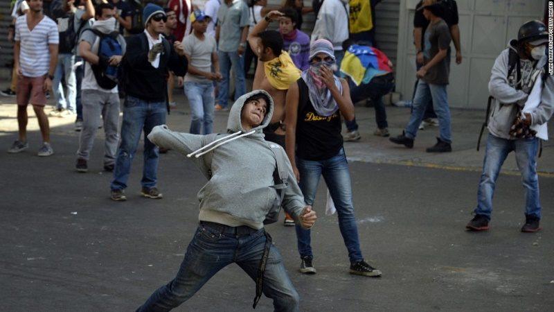 disturbios venezuela