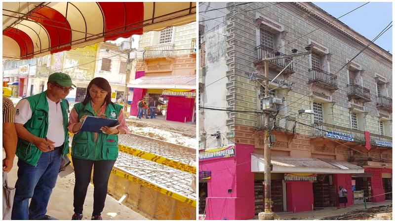 Alcaldía inspecciona edificaciones en abandono en el Centro Histórico de Barranquilla