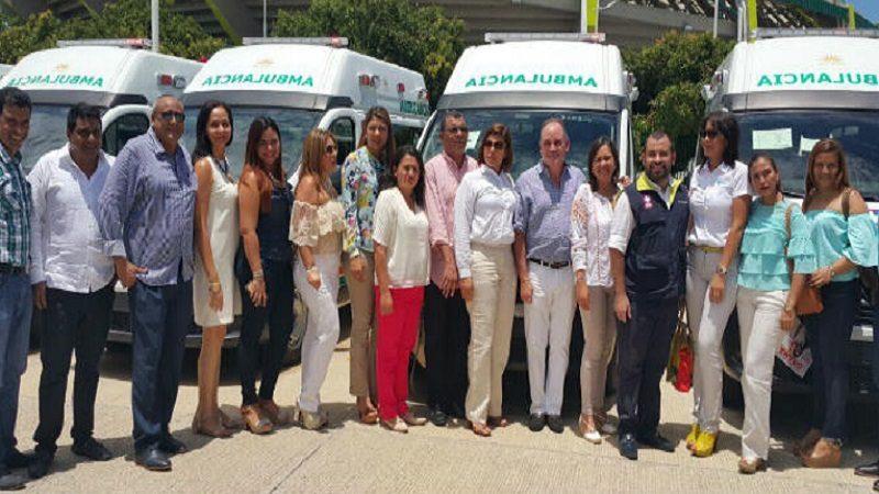 Ambulancias para el cesar