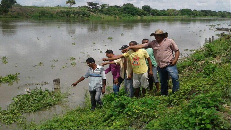 Comunidad de Santa Lucía reporta que el Canal del Dique ya está socavando el terraplén