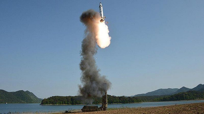 Corea del Norte lanzó misil balístico de corto alcance