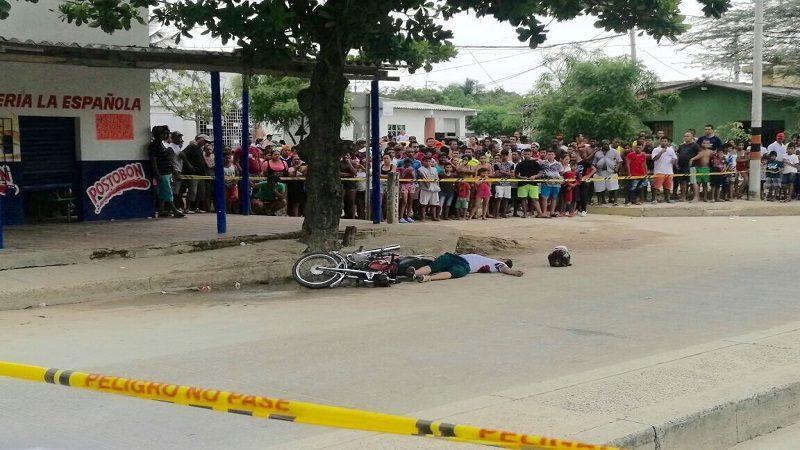 De cuatro tiros asesinaron a un hombre en el barrio El Bosque