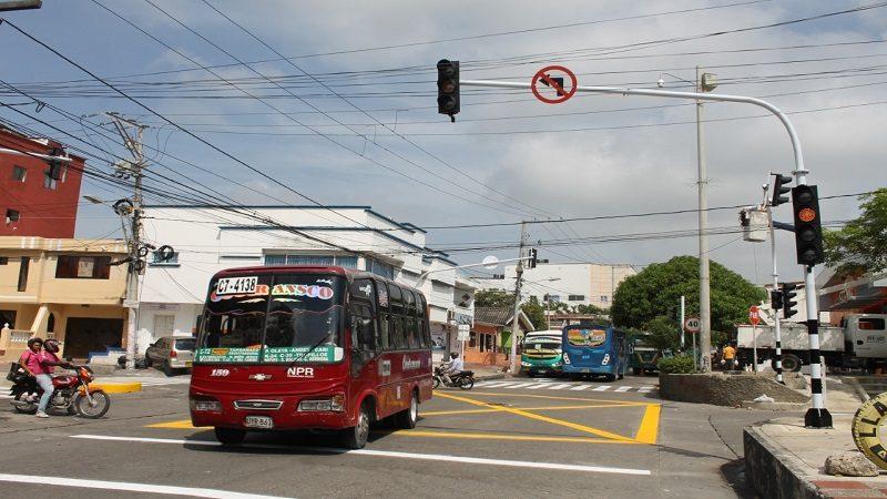 Desde hoy martes, nuevo semáforo en el barrio Los Andes de Barranquilla
