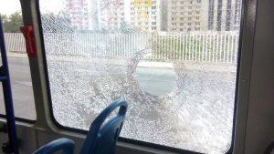 Dos heridos y un capturado deja ataque contra un bus de Transmetro en Soledad 2