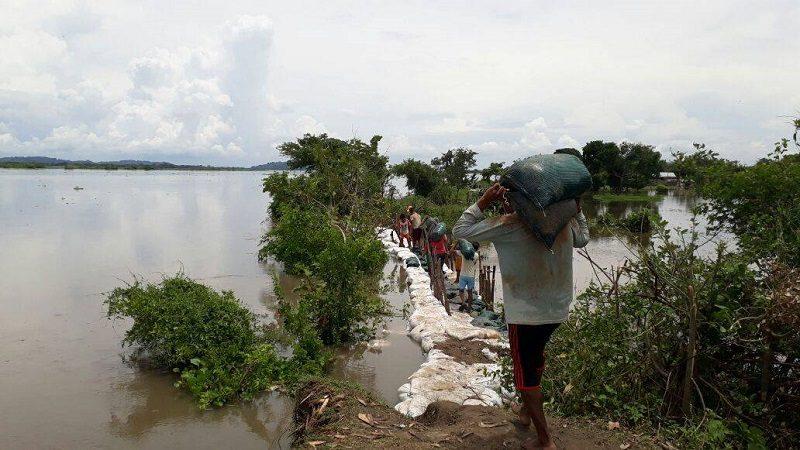 En alerta 12 municipios del Atlántico por altos niveles del río Magdalena ok