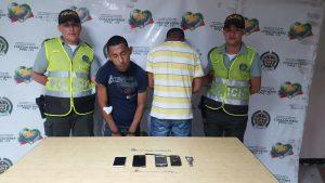 Estos son los capturados por atraco en el barrio Ciudad Jardín, la noche del domingo 3
