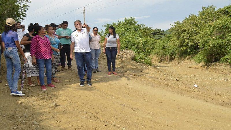 Gobernación construirá carretera Cordialidad-Arroyo Negro (1)