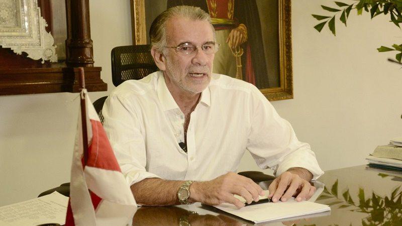 Gobernador Eduardo Verano triple a