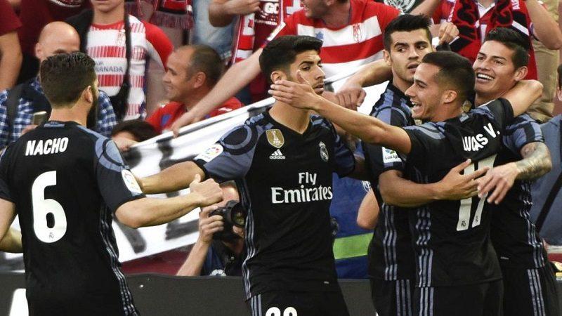 James Rodríguez se coronó campeón de la Liga de España con el Real Madrid