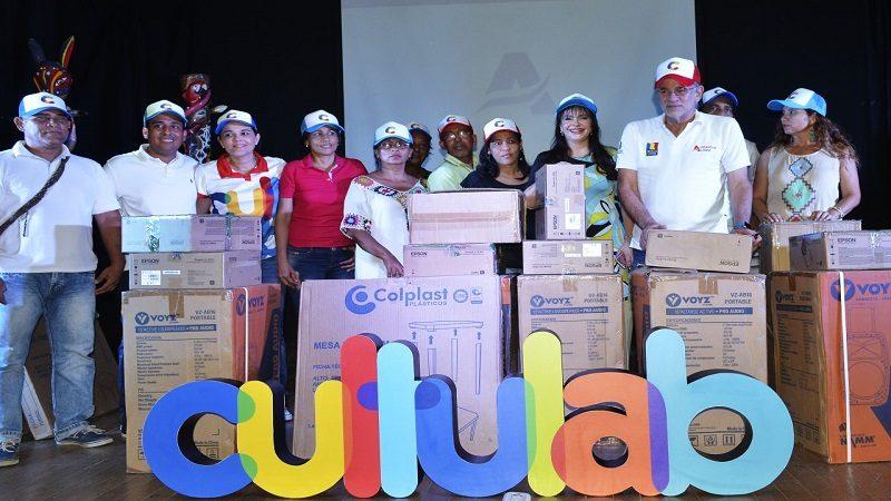 Lanzan CultuLab, programa que fortalece casas de cultura en Atlántico