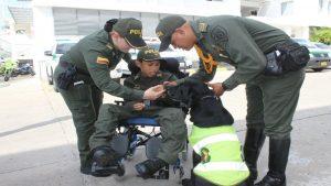 Policía le cumple el sueño a niño de 12 años con situación de discapacidad 1