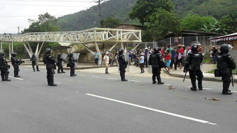 Refuerzan seguridad en Buenaventura por protestas y saqueos