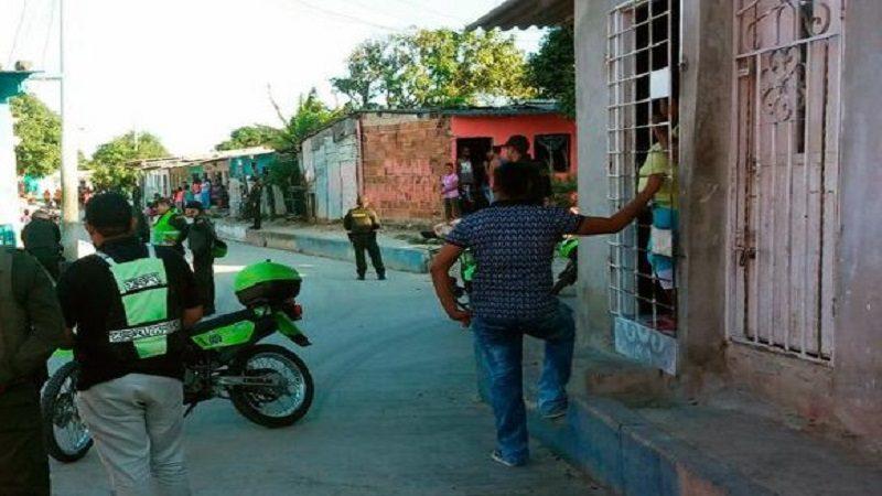 Un pescador muerto y otro herido deja ataque sicarial en el barrio La Bonga de Soledad
