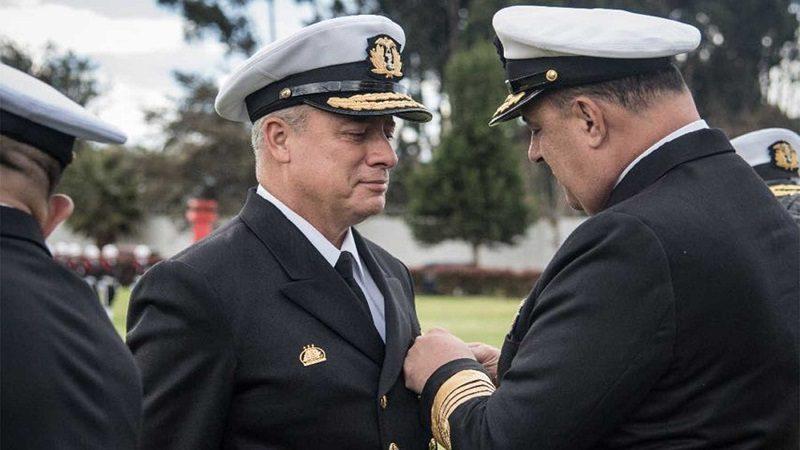 Vicealmirante Ernesto Durán González, nuevo Comandante de la Armada Nacional