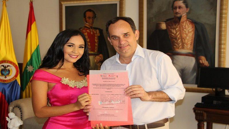 Yineth Nieto representará al Atlántico en Reinado Nacional del San Pablo (2)