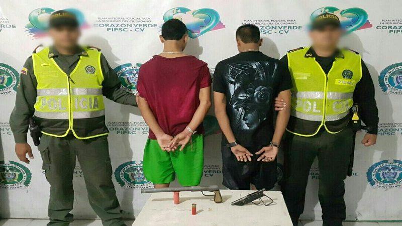 Acciones contra la delincuencia dejan dos capturados y un menor conducido en Barranquilla
