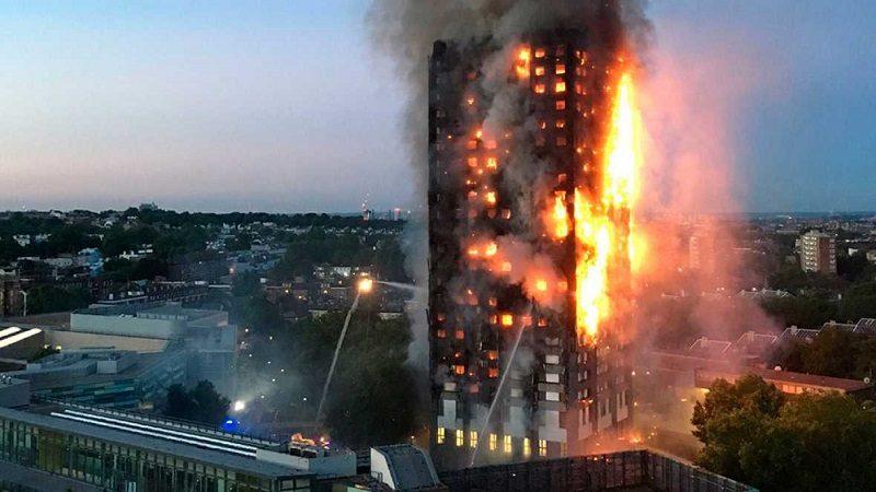 Al menos seis muertos y varios desaparecidos deja incendio de edificio en Londres