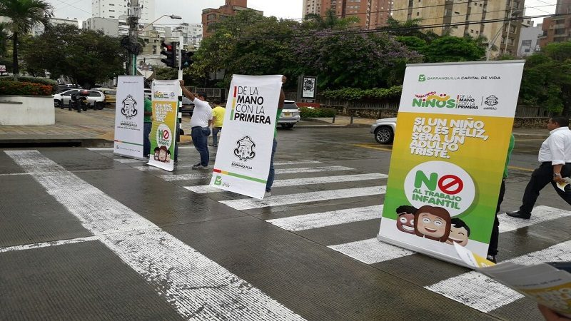 Alcaldía de Barranquilla se une a la lucha para erradicar el trabajo infantil