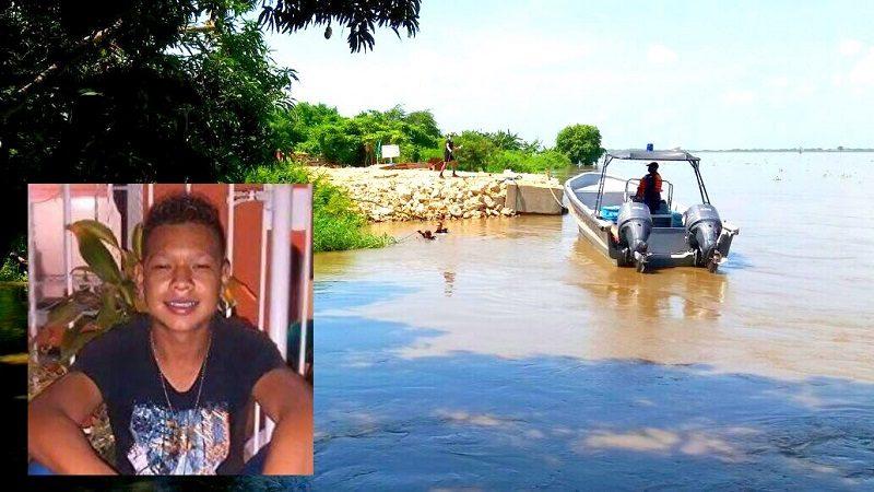 Armada y Defensa Civil buscan a estudiante que desapareció en el río Magdalena