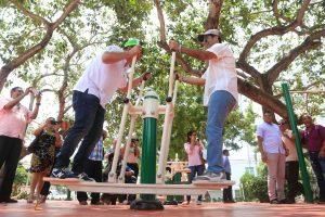 Así quedó el parque La Electrificadora de Barranquilla 1