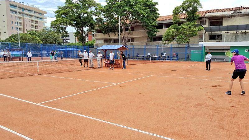 Barranquilla tiene tres nuevas y modernas canchas de tenis en el parque El Golf