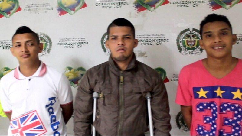 Capturan a miembros de la banda 'Los Isis', sindicados de desmembrar a un joven en Rebolo