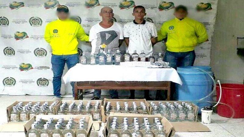 Casa del barrio Las Nieves era 'olla de droga' y fábrica de licor adulterado