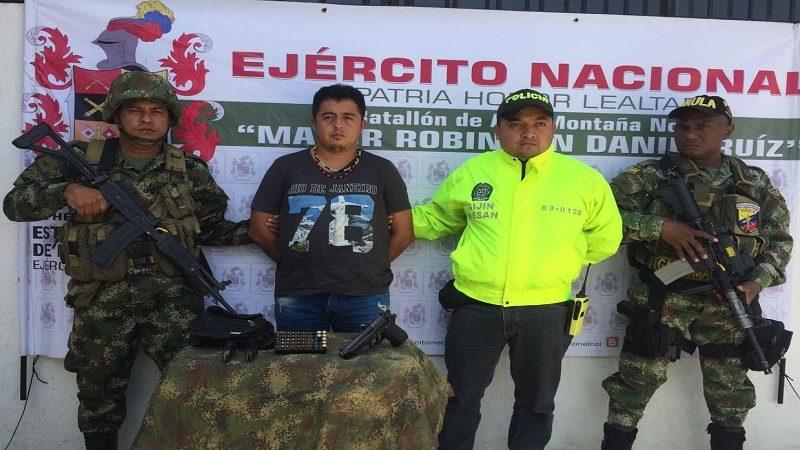 Cayó alias 'JJ', cabecilla de 'Los Pachencas' en Santa Marta