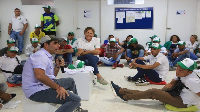 Distrito inicia proyecto 'Paso a Paso sin fronteras' con jóvenes de La Chinita y La Luz