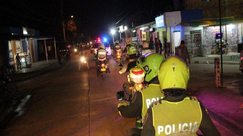 En el fin de semana Policía reporta 39 capturas en Barranquilla y su área metropolitana