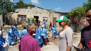 Encuentran una casa en el barrio Carrizal con 35 toneladas de basura 1