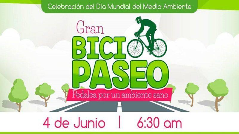 Este domingo, bicipaseo en Soledad por el Día Mundial del Medio Ambiente