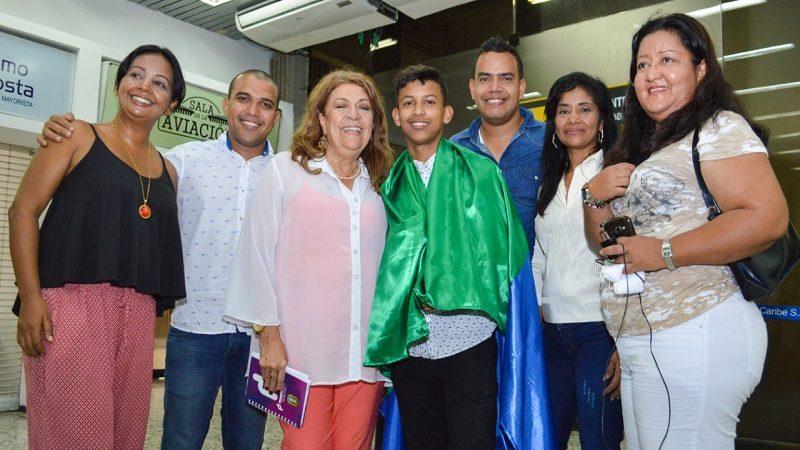 Estudiantes soledeños presentan en México novedosa propuesta de humedales artificiales