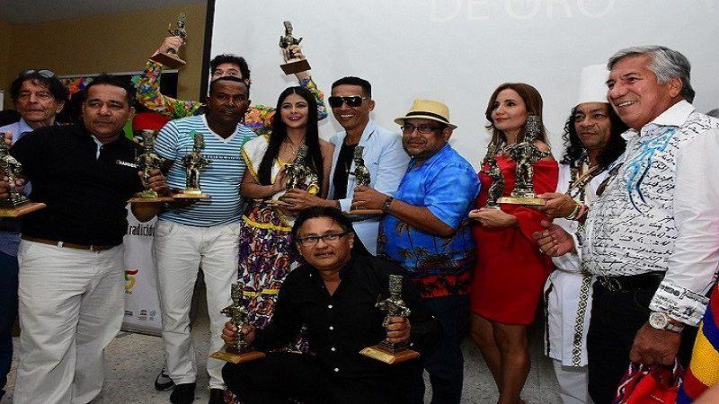 Ganadores del Carnaval 2017 recibieron sus 'Congos de Oro'
