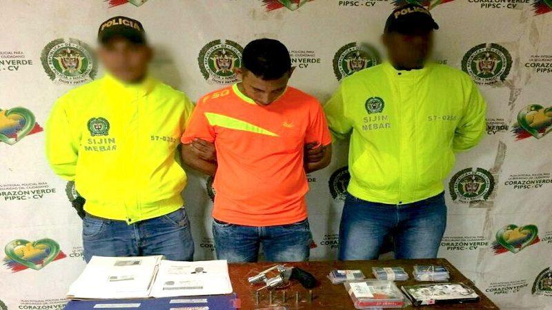 Lo capturan en el barrio San José por robarse $1.000 millones en fraude electrónico