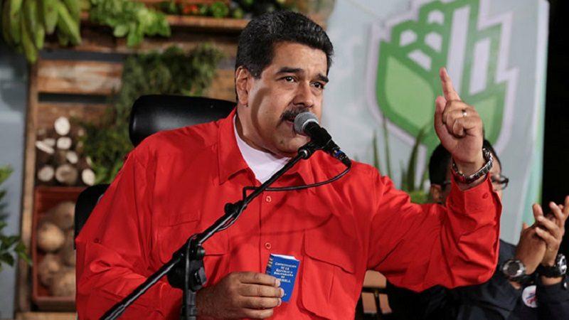 Maduro denuncia plan de intervención de EE.UU. a Venezuela