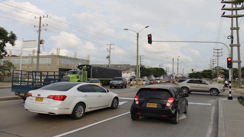 Modifican intersección semaforizada de la vía 40 con calle murillo y carrera 54