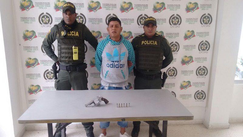 Policía capturó a dos atracadores en la Ciudadela y Soledad