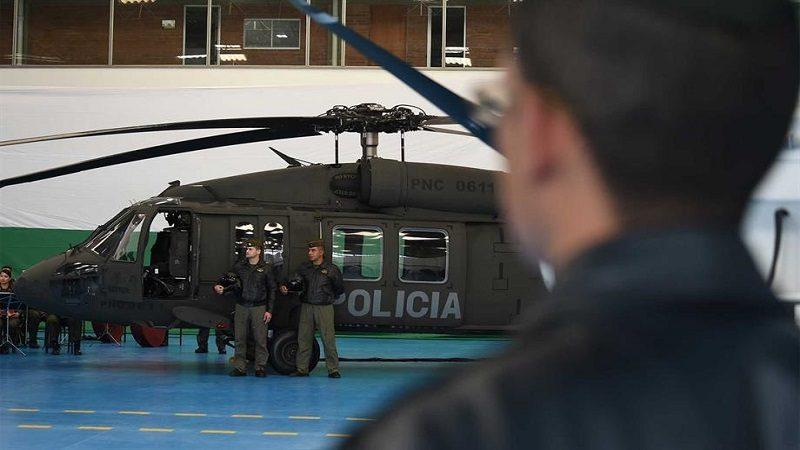 Policía recibe helicópteros Black Hawk para lucha en contra del crimen organizado