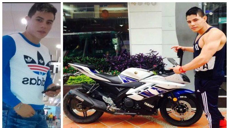 Por pisar un mango con la moto se habría matado instructor de gimnasio en Barranquilla ok