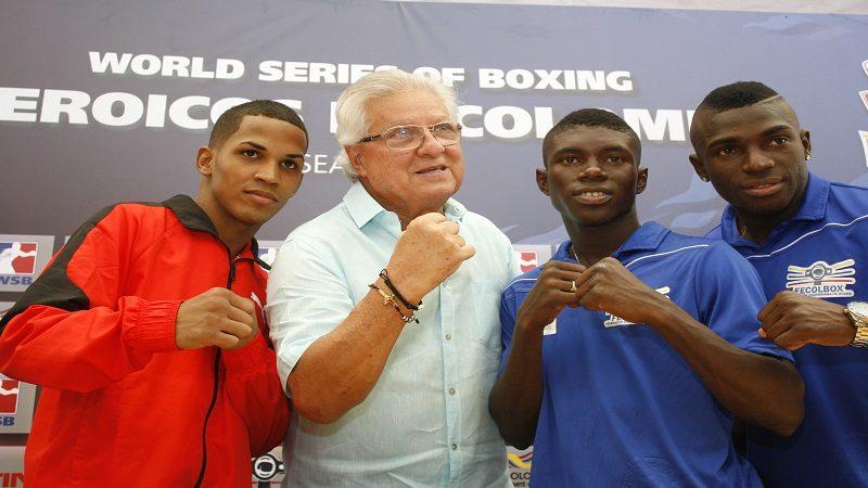 Soledad dio la bienvenida a la semifinal de la Serie Mundial de Boxeo