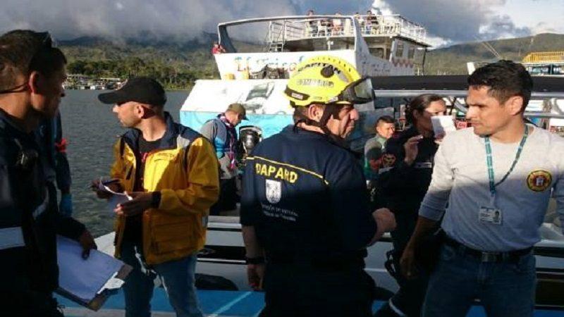 Supertransporte investiga naufragio de embarcación turística en Guatapé