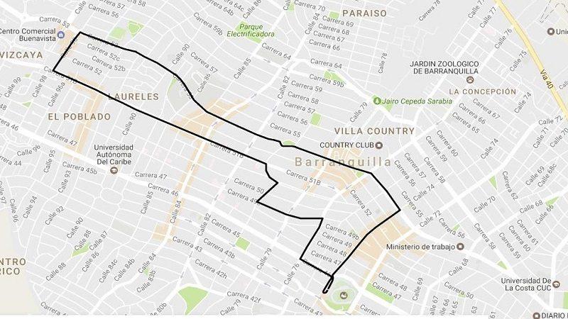 Transmetro modifica desvío en dos rutas alimentadoras por canalización de arroyo en calle 76