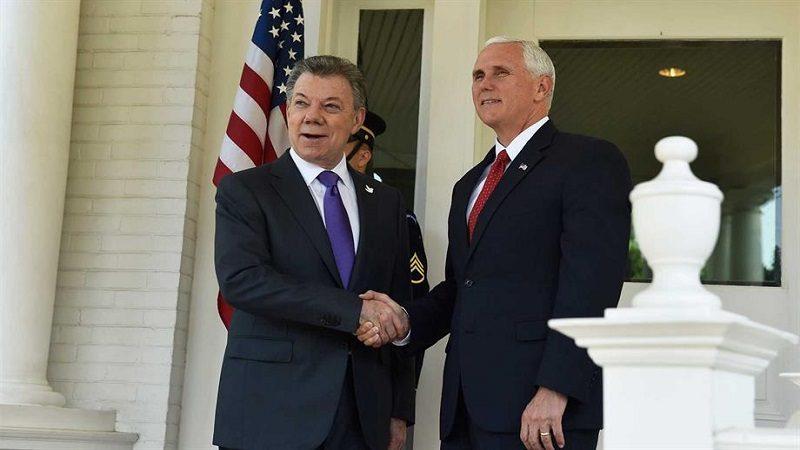 Vicepresidente de EEUU, Mike Pence, visitará Colombia en agosto
